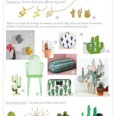 Sélection: cactus party pour la rentrée !