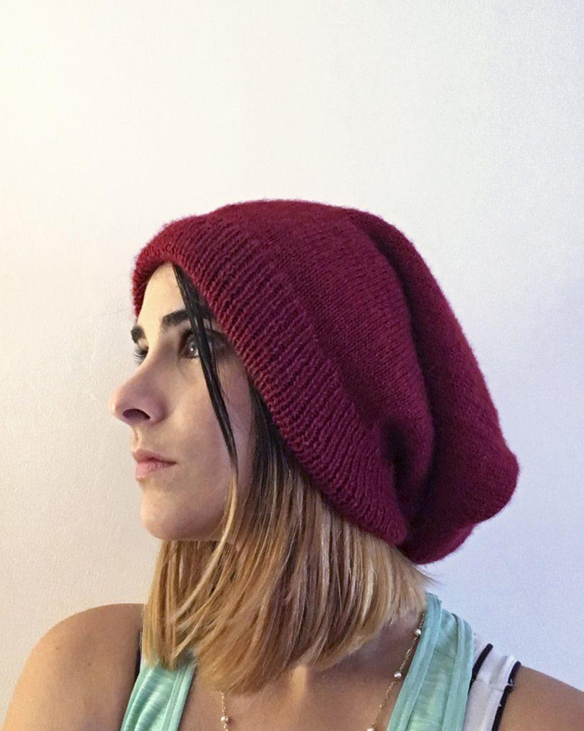 DIY tricot facile ! Le bonnet 2 en 1