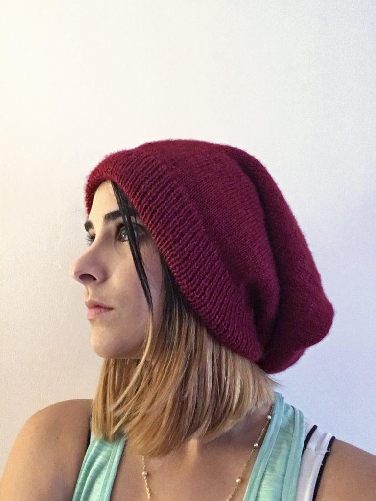 DIY cadeaux à faire soi-même Tea&Poppies: tricoter un bonnet 2 en 1