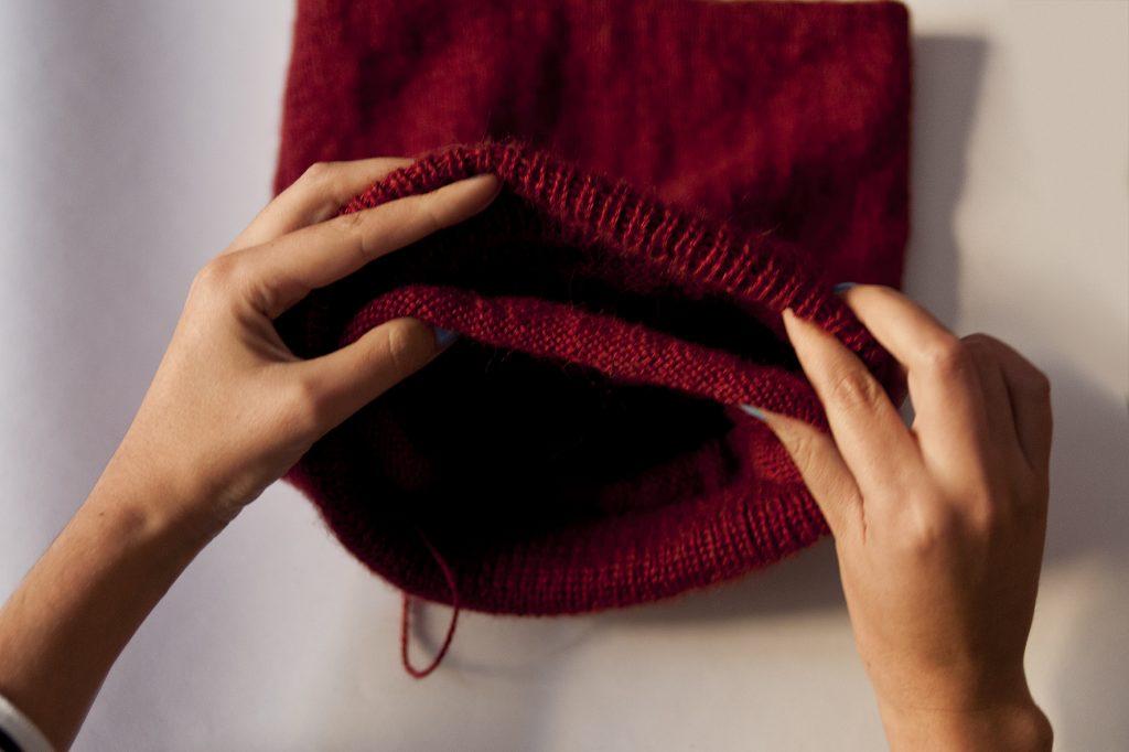 tuto, DIY, tricot, bonnet, tea and poppies, bonnet slouch, comment tricoter un bonnet