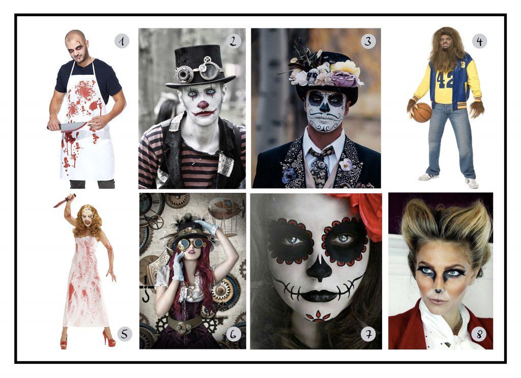 Inspi déguisements pour Halloween