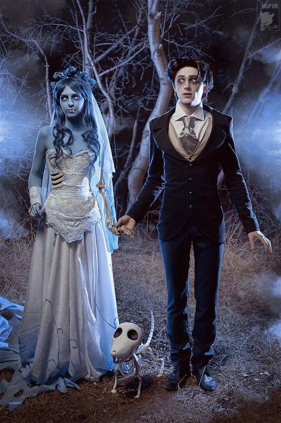 Les noces funèbres déguisements d'Halloween