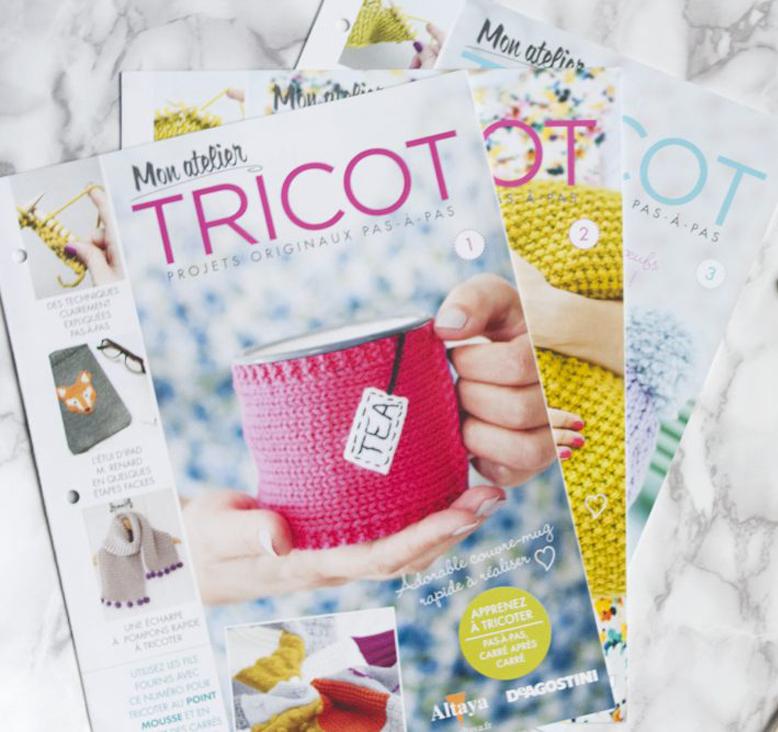 les chaussons à tricoter de mon atelier tricot Tea&Poppies