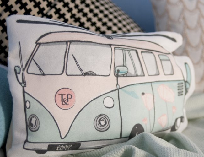 Van tea&Poppies doudou DIY coussin combivan