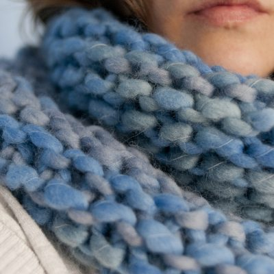 DIY Minute : Le tuto du snood XXL
