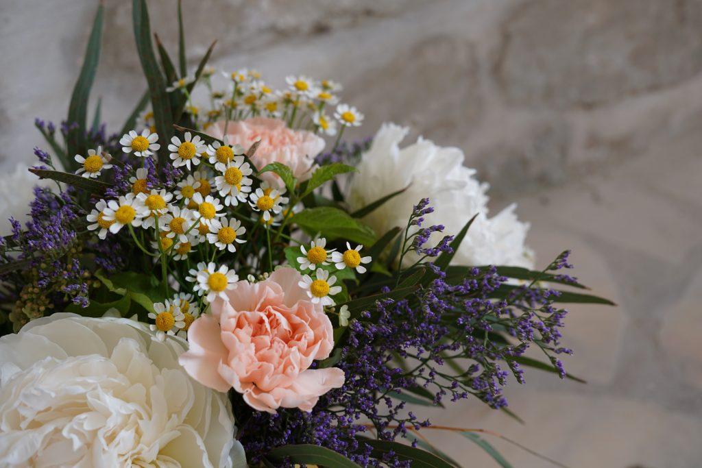 entre fleurs : Tea and Poppies rencontre Monsieur Marguerite