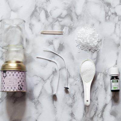 DIY Recyclage : Des bougies parfumées maison