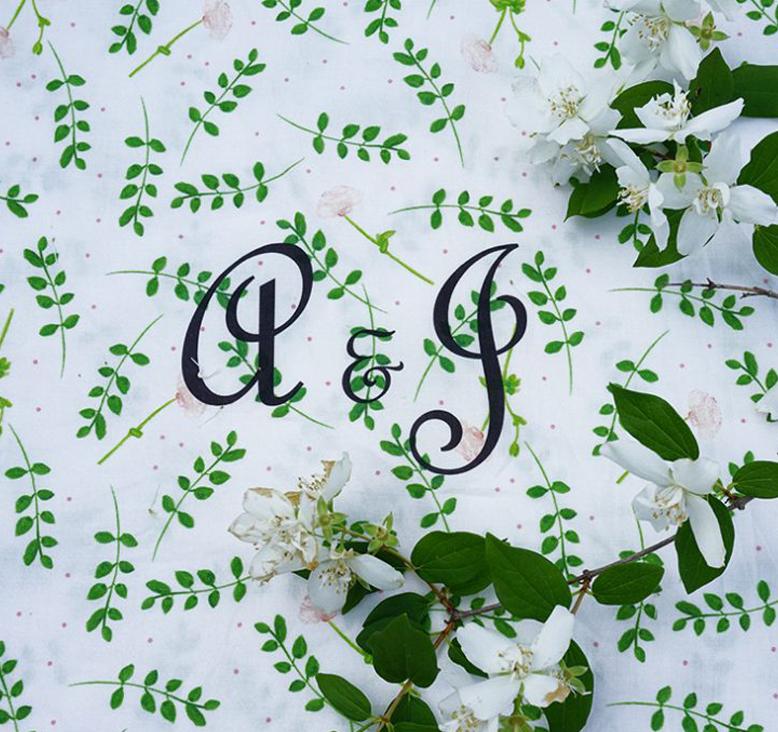 DIY housse de couette cadeau de mariage Tea and Poppies