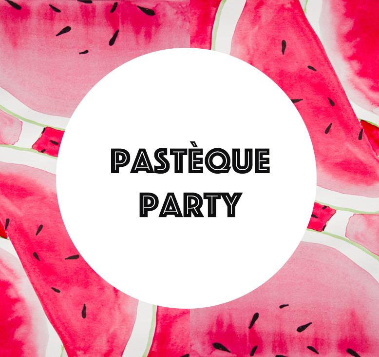 sélection d'articles pastèque party by Tea&Poppies