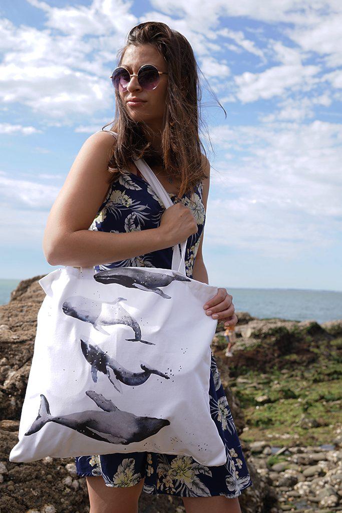DIY: Le tote bag parfait pour la plage ou la piscine Tea&Poppies