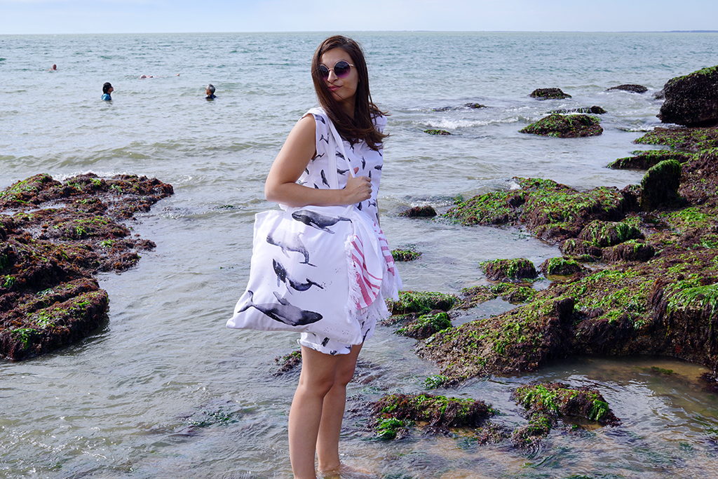 DIY: Le tote bag parfait pour la plage ou la piscine Tea&Poppies