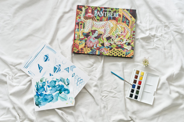 Photo Lifestyle du mois d'août : Panthère de Brecht Evens et aquarelles