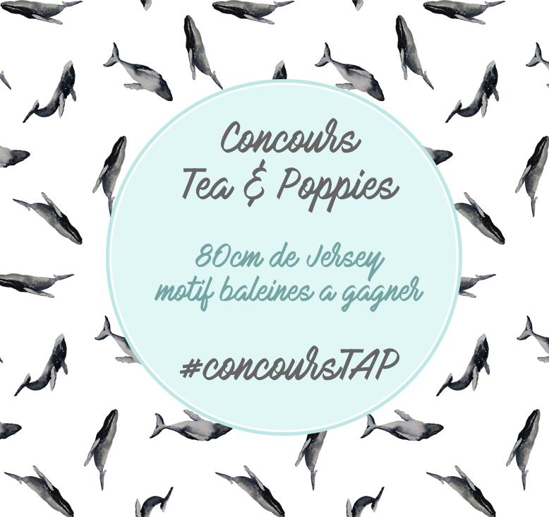 concours tissu jersey couture baleine Tea&Poppies