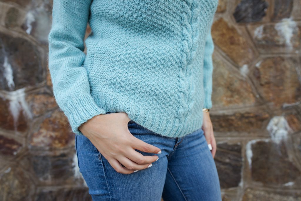 Mon petit pull en laine photographié par Anaïs Rousseau