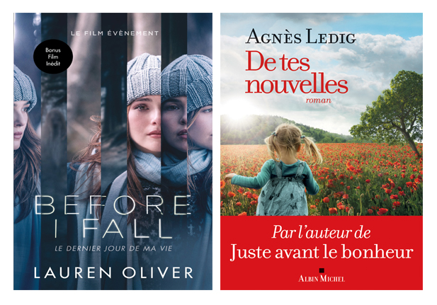 livres du mois de septembre 2017 vu par laurie Tea and Poppies