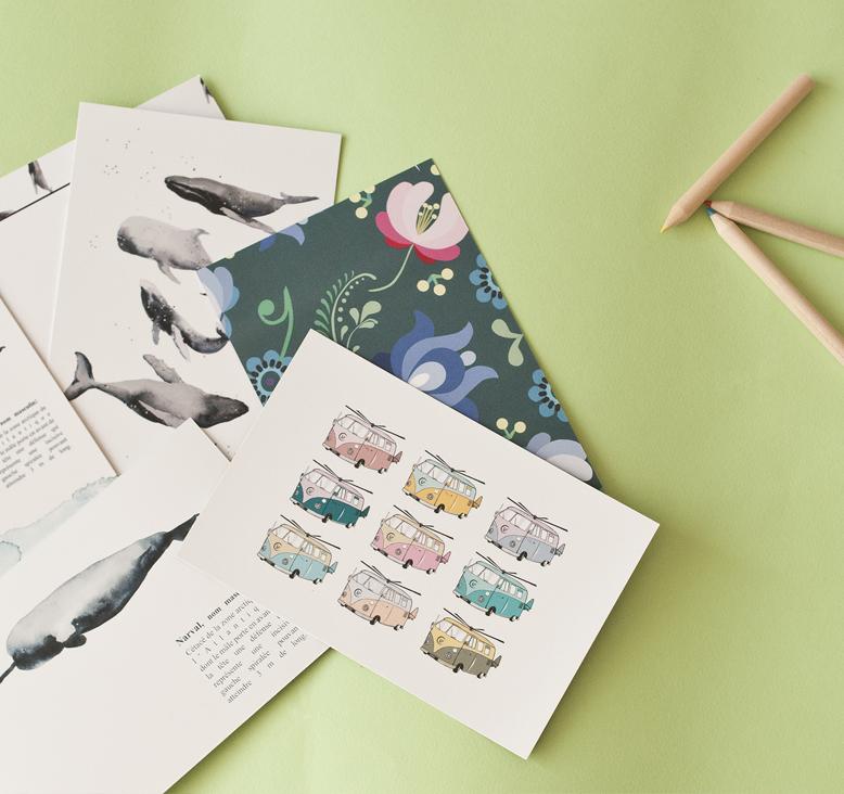 popcarte les cartes personnalisables Tea&poppies notre avis