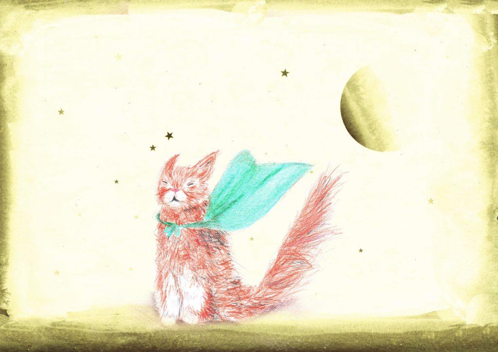 ma vie, mon chat, mes rêves. Et dans cinq ans tu te vois où? Heureuse vu par Tea&Poppies