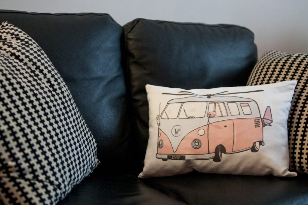 Tea&Poppies machine le coussin rapide et facile a créer! DIY couture, tissu, pillow