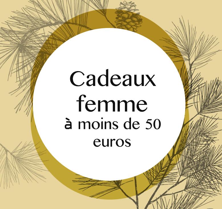 sélection cadeaux pour femme à moins e 50 euros par Tea and Poppies
