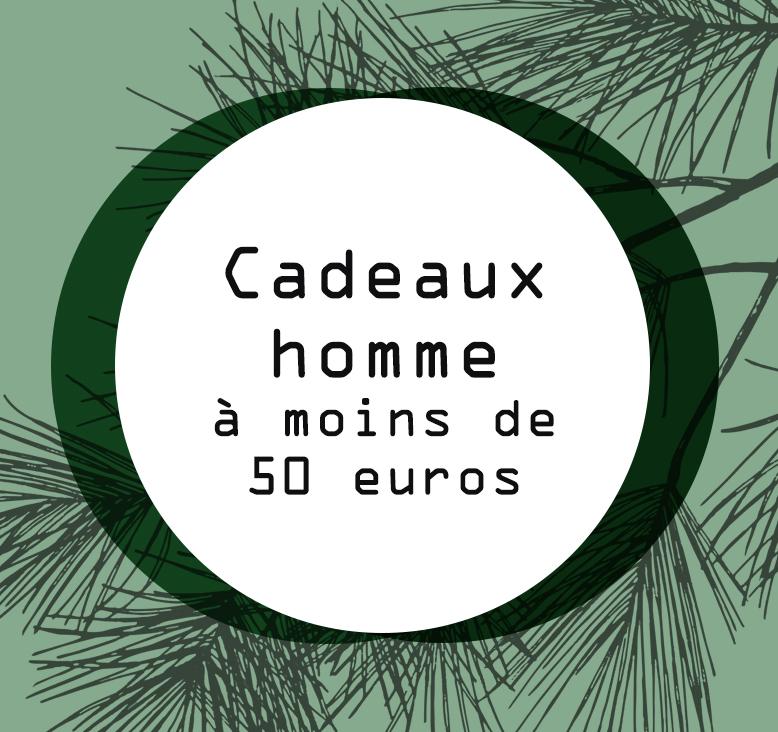 sélection cadeaux pour homme à moins e 50 euros par Tea and Poppies