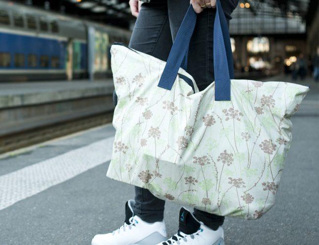 DIY votre sac de voyage pratique et facile à coudre par Tea&Poppies