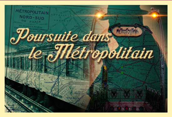 escape hunt à la poursuite du metropolitain testé par Laurie Tea&Poppies