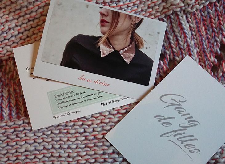 impression cartes Gang de Filles avec Photobx, test et avis par Tea&Poppies