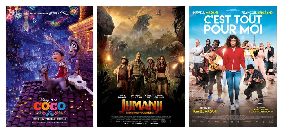 Découvertes films en décembre 2017 par laurie Coco, Jumanji, C'est tout pour moi Nawel Madani