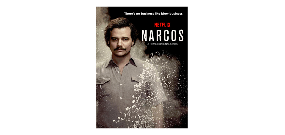 Narcos, série du mois de janvier 2018 vu par virginie Tea and Poppies