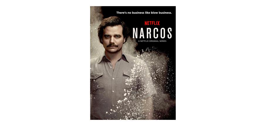 Narcos, série du mois de janvier 2018 vu par virginie Tea and Poppies