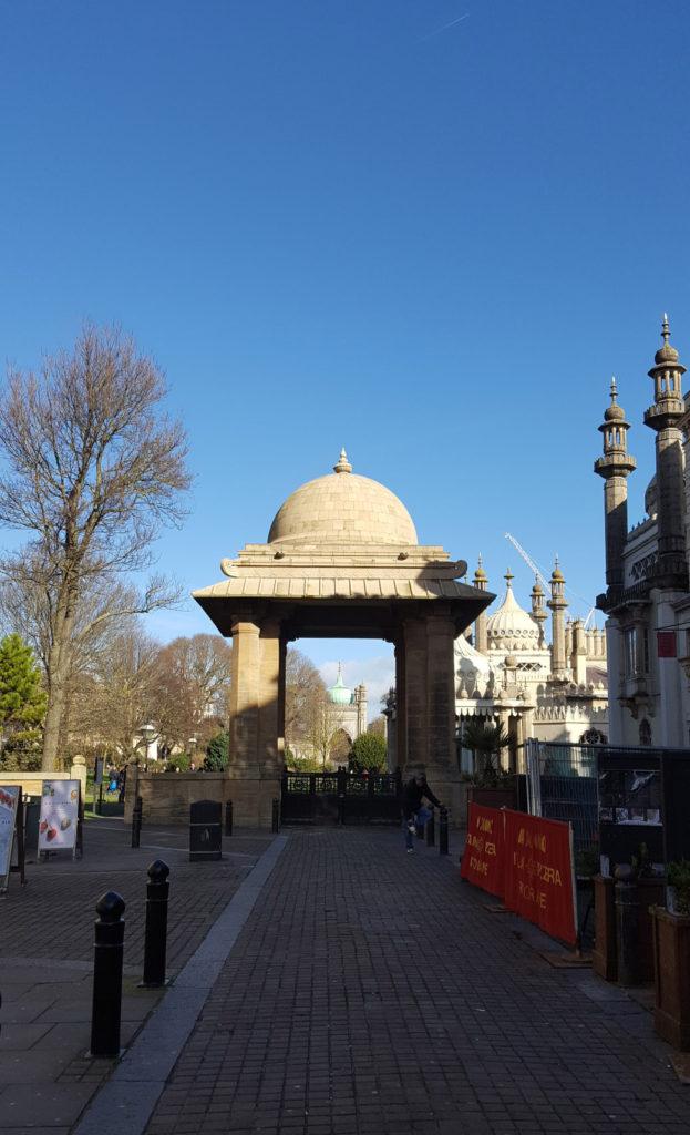 Une française à Brighton, bilan des 2 mois: entrée pavillon royal