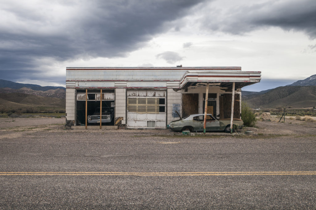 Gas Station, photo, voyage, Elsa Cadic, photographe, paysage