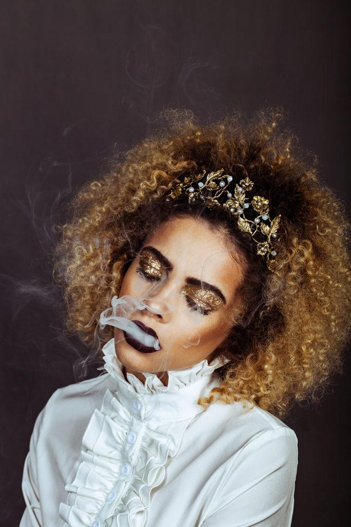 Portrait, Elsa Cadic, photographe, mode, studio, région PACA