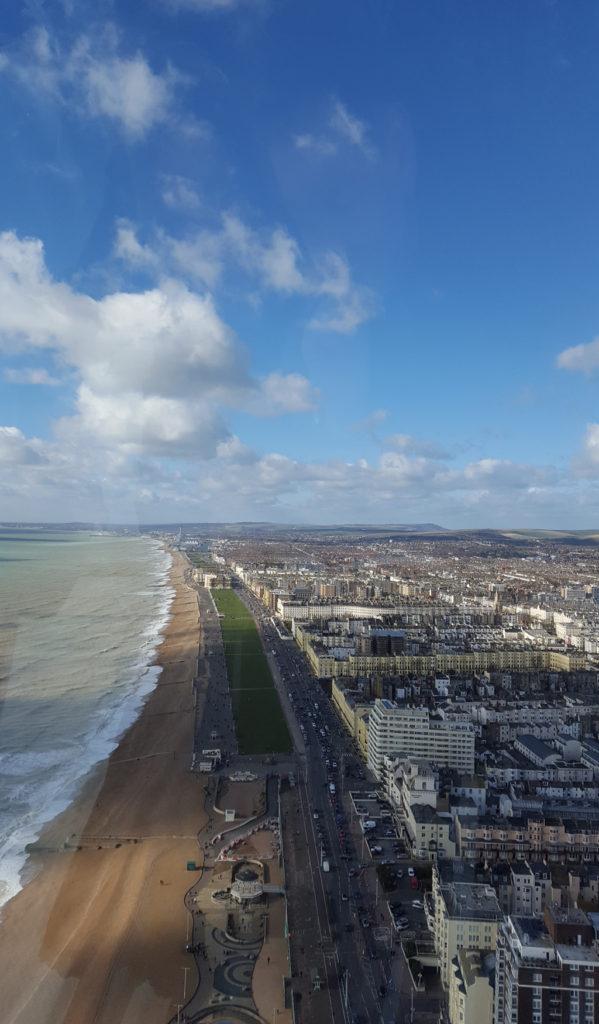 Une française à Brighton, bilan des 2 mois: tour British Airways i360