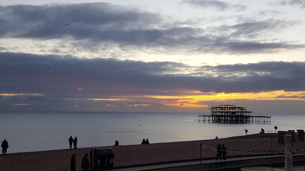 Une française à Brighton, bilan des 2 mois: West Pier Ruins