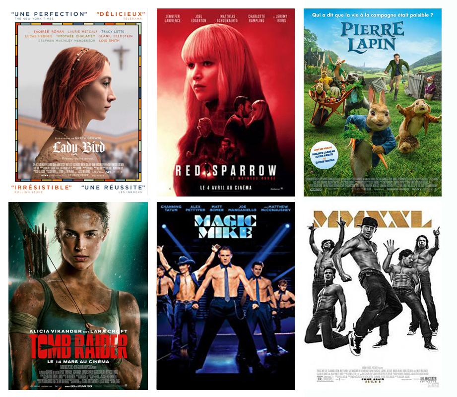 Films et ciné du mois de mars 2018 vues par Laurie Tea and Poppies