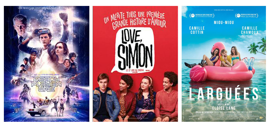 Films et ciné du mois de avril 2018 vues par Laurie Tea and Poppies