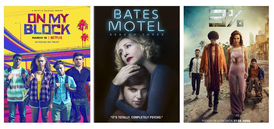 Séries du mois de avril 2018 vues par Laurie Tea and Poppies