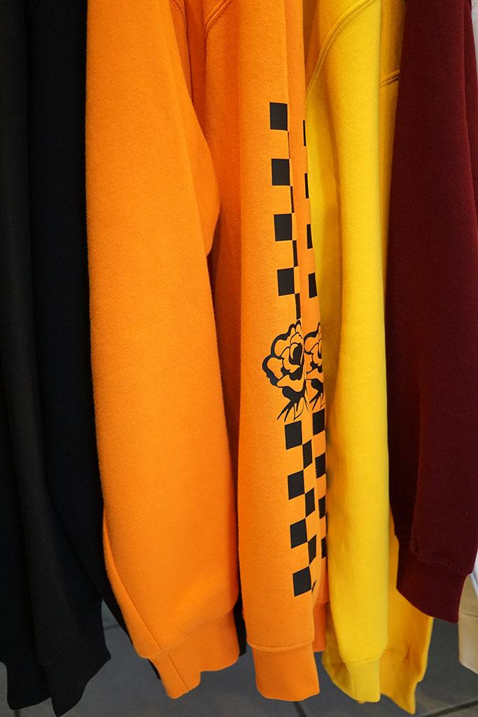 Découverte de la boutique Trunk Top à Brighton. Boutique indépendante d'impression textile. Création de motifs personnels