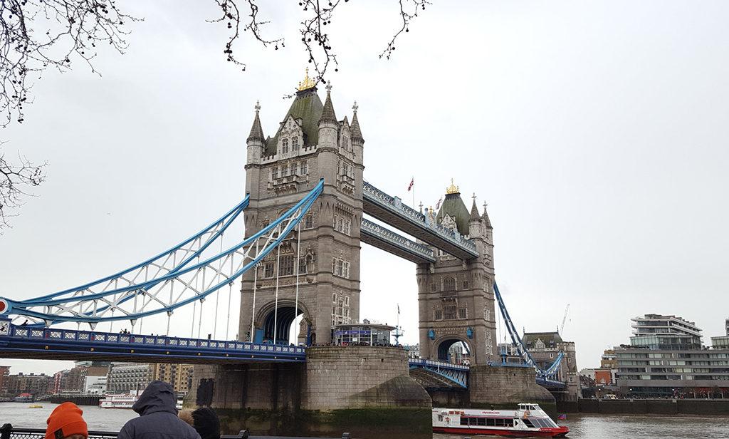 Une française à Brighton, bilan des 3 mois: Londres Tower Bridge