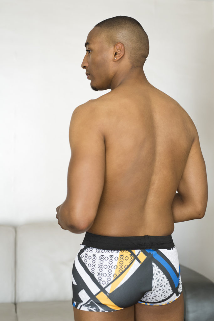 Tea and Poppies teste la couture du patron Boxer pour homme d' Eclipse studio lingerie