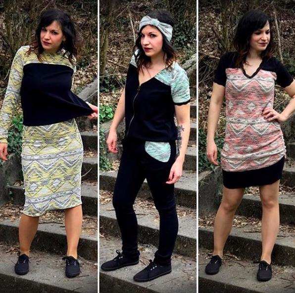Rencontre avec Virginie Janin-Révil créatrice de la marque Vivifromage - vêtements français et artisanaux faits main dans son atelier à Chambéry