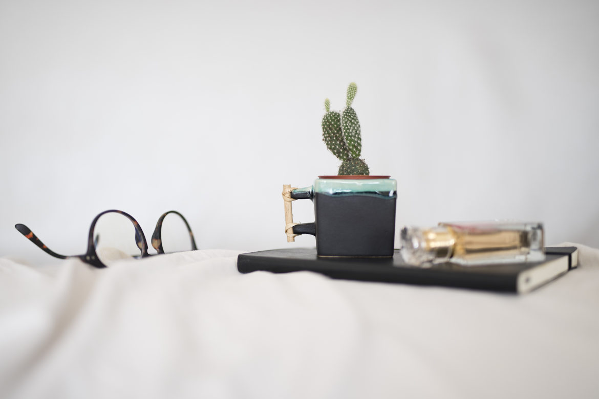 photo, lifestyle, cactus, tasse carré, lunette, Izipizi
