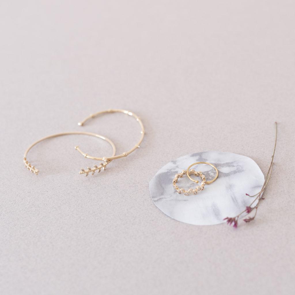 Découverte des bijoux intemporels L'atelier de Solène made in france bijoux fin et délicats dorés à l'or fin 3 micron, résistants à l'eau et à la vie par Tea&Poppies