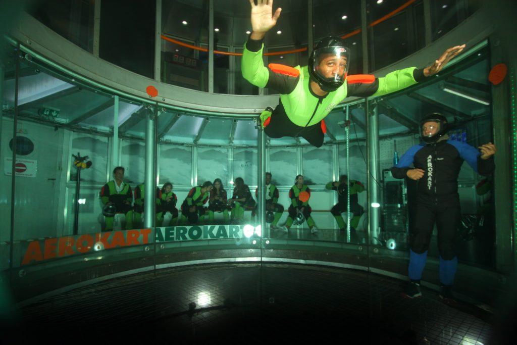 Vol en chute libre à l'Aerokart d'Argenteuil par Tea&Poppies