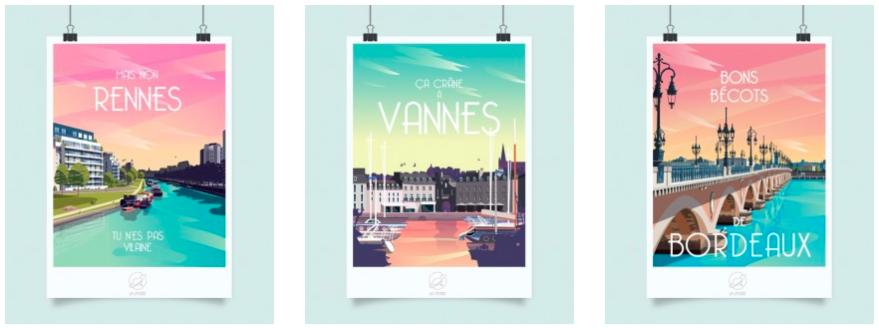Maison&objet les coups de coeur de Laurie Tea and Poppies La loutre affiches villes Maison et Objet septembre 2018