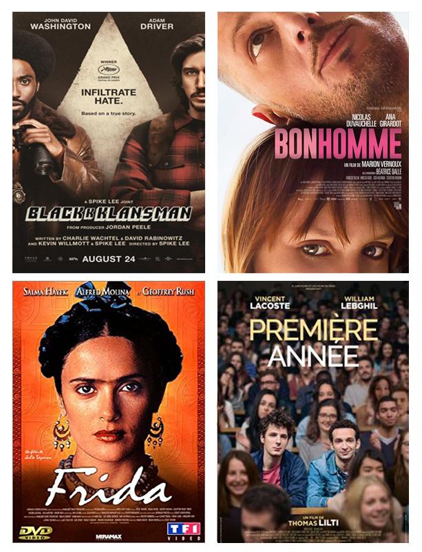 Septembre 2018 : ciné films vus par Laurie de Tea and Poppies