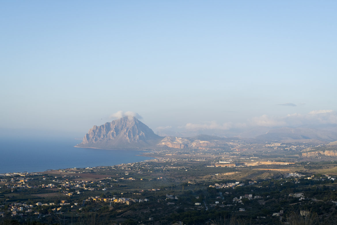photo, paysage, sicile, Italie, Erice