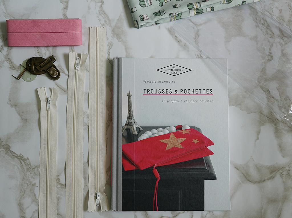 livre trousse et pochettes