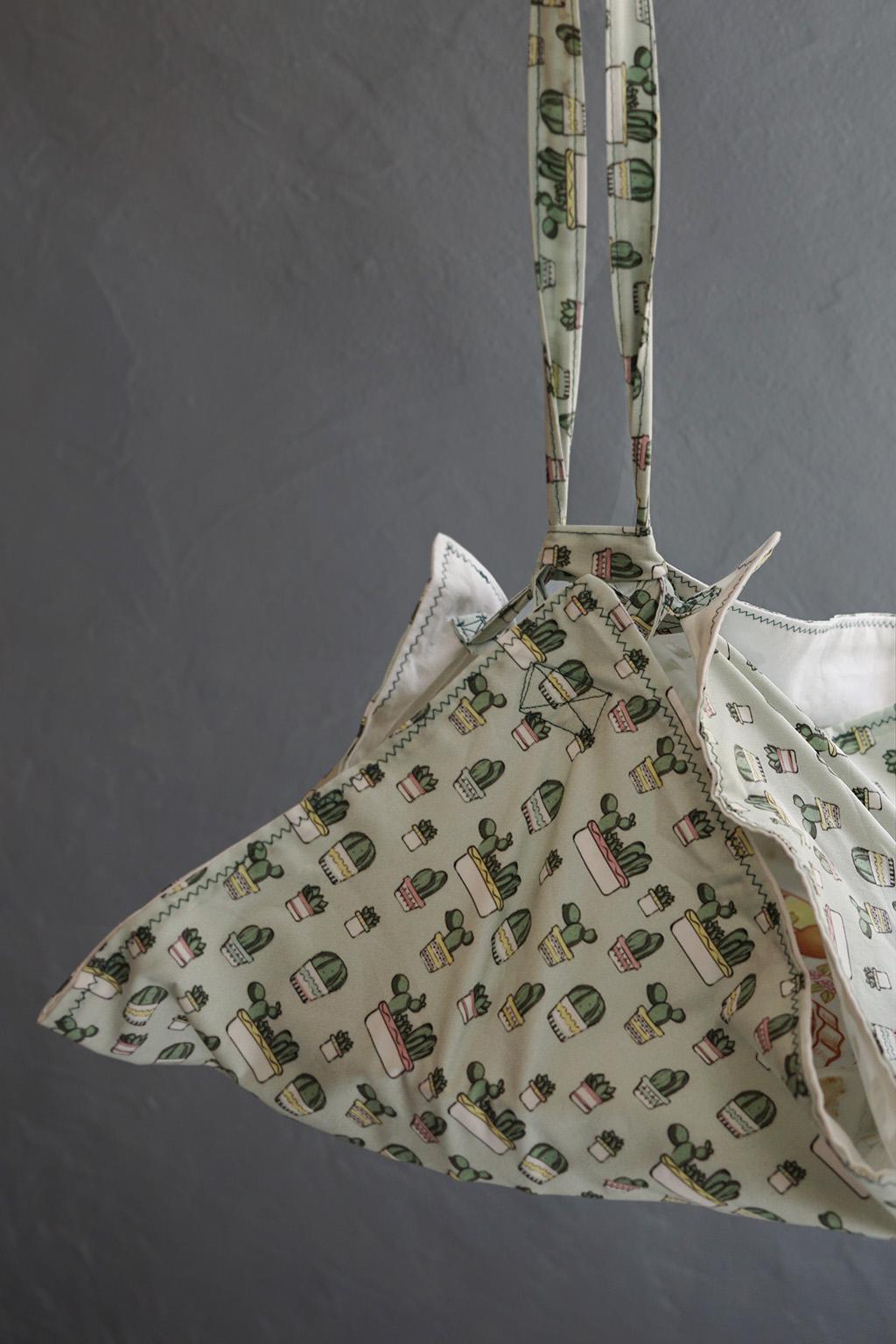 Crashtest du sac à tartes pratique avec le tissu réalisé par Mélodie rédigé par Tea&Poppies